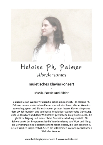 Heloise Ph. Palmer - Wundersames